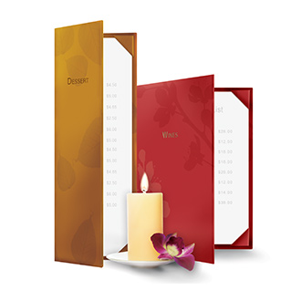 Meditations Menu Covers